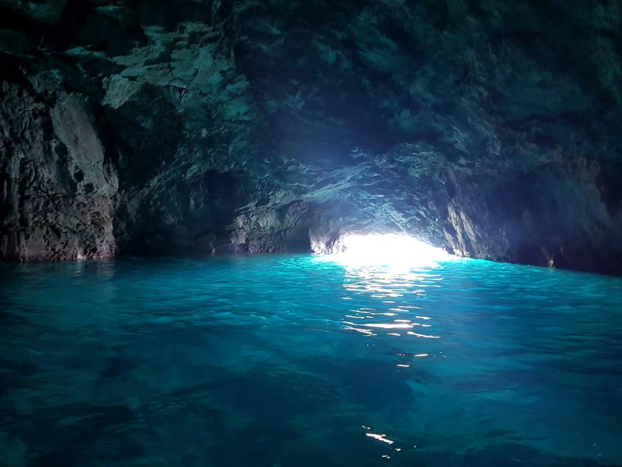 grotte bleue calanques