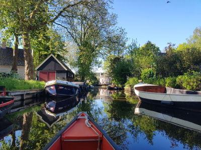 Kanutour in Waterland bei Amsterdam