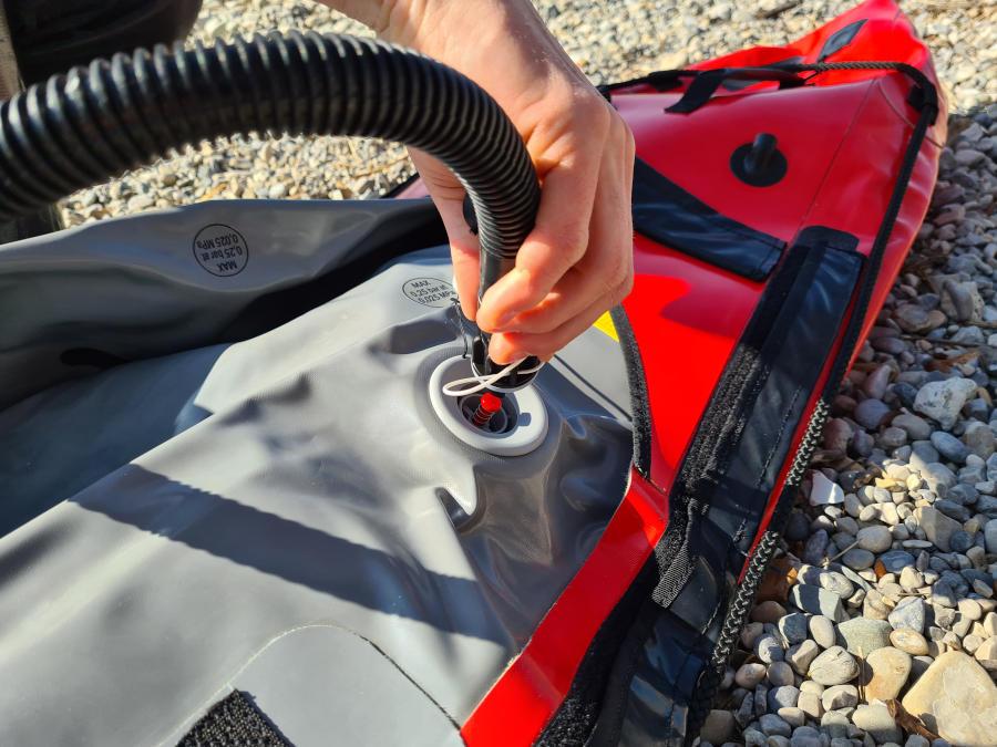 gumotex sewave pumpe ventil