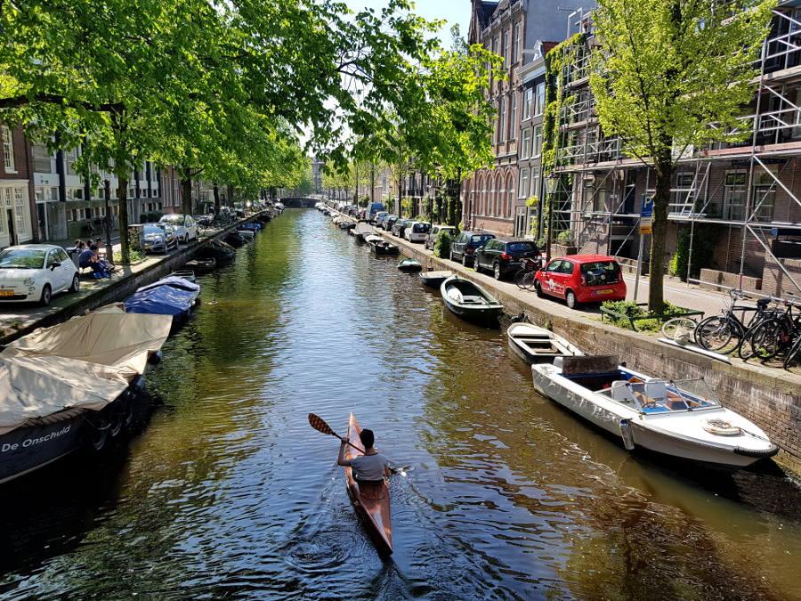 paddeln amsterdam