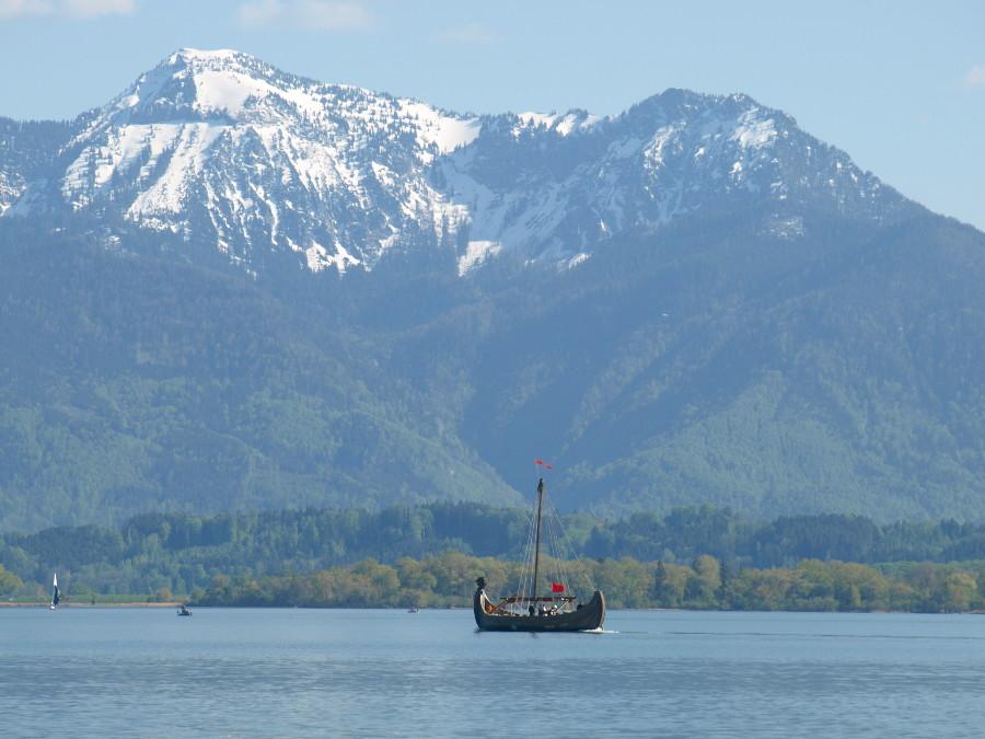 chiemsee wikingerschiff