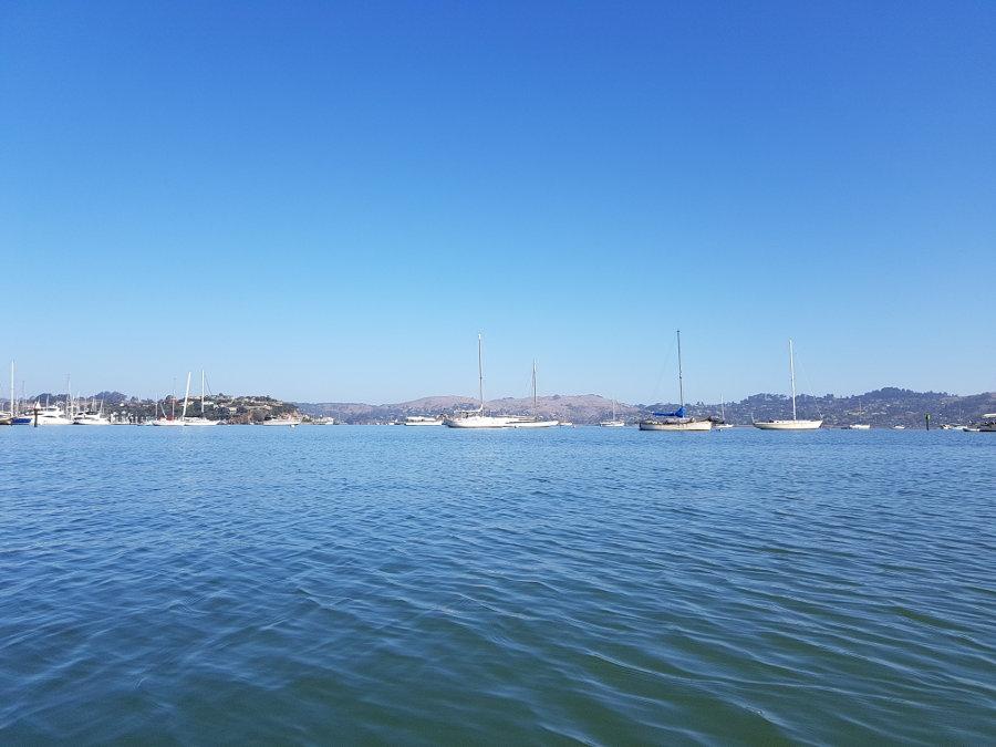 kanutour kalifornien meer