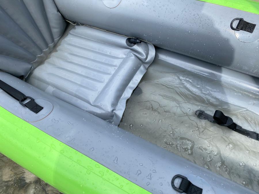 gumotex solar wasser im boot