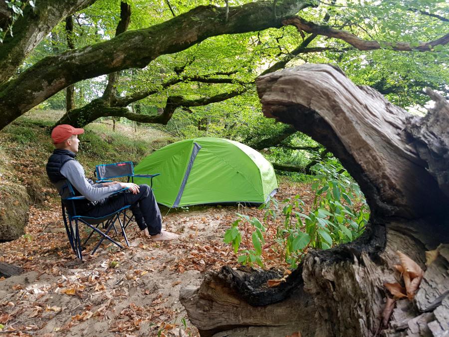 kanutour camping