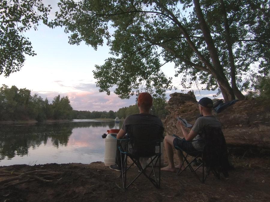 dordogne fluss camping