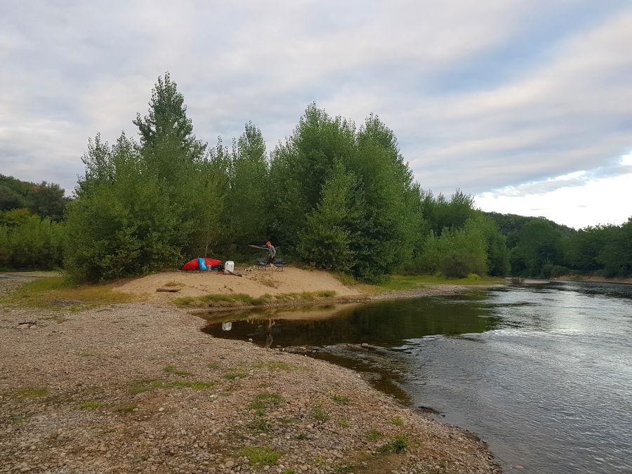 kanu-camping