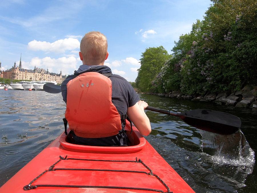 stockholm paddeltour