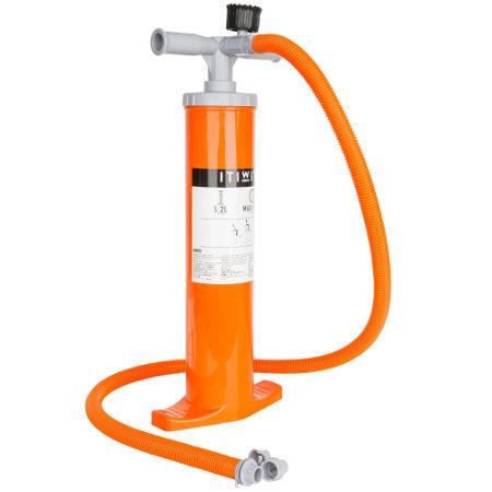 Handpumpe+Doppelhub+Kajak+2+2+6+Liter+orange