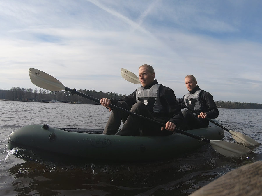 2 personen packraft nortik duo